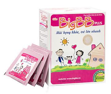 BIGBB PLUS Hỗ trợ điều trị chứng hô hấp của trẻ