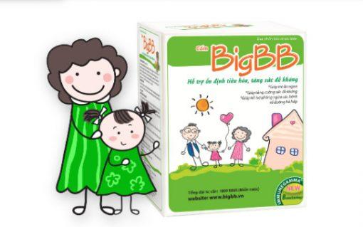 Cốm BigBB – Giúp bé ăn ngon, tiêu hóa khỏe