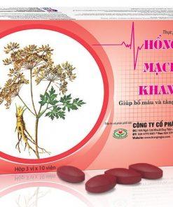 Hồng Mạch Khang – giúp bổ máu hỗ trợ điều trị huyết áp thấp