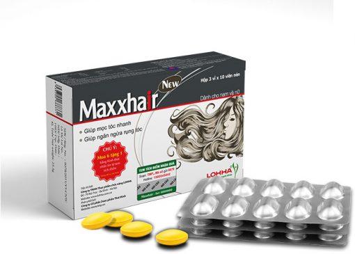 Viên uống MAXXHAIR - Ngăn rung tóc, kích thích mọc tóc