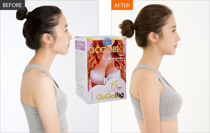 Viên uống nở ngực Gogobig từ Nhật Bản