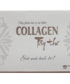 Collagen Tây thi hộp 120 viên, ngăn ngừa nếp nhăn da