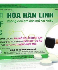 Hòa Hãn Linh, Hỗ trợ điều trị bệnh mồ hôi nhiều