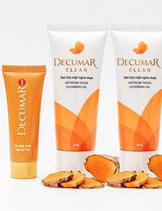 Kem trị mụn DECUMAR - COMBO DECUMAR CLEAN