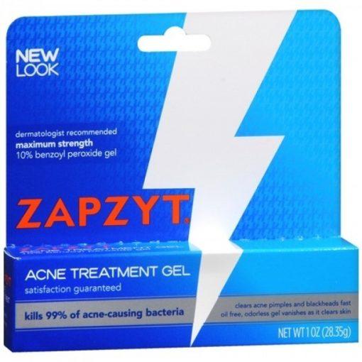 Kem trị mụn ZAPZYT Maximum Strength 10% Benzoyl Peroxide Acne Treatment Gel