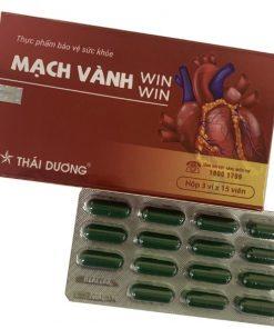 Mạch vành Win Win hộp 45 viên, hỗ trợ điều trị bệnh mạch vành