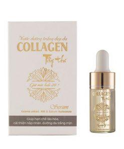 Nước dưỡng trắng đẹp da Collagen Tây thi serum 12ml