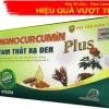 Nano Curcumin Tam Thất Xạ Đen Plus, Hỗ trợ hóa trị, xạ trị