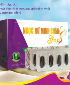 Ngọc Nữ Minh Châu Gold, Tăng sinh lý nội tiết tố nữ