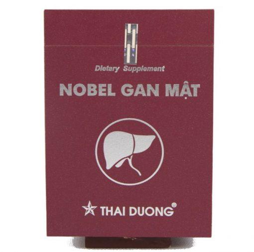 Nobel Gan mật Thái Dương hộp 60 viên- Hỗ trợ điều trị viêm gan