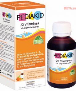 Pediakid 22 Vitamin, Bổ dung Vitamin và khoáng chất