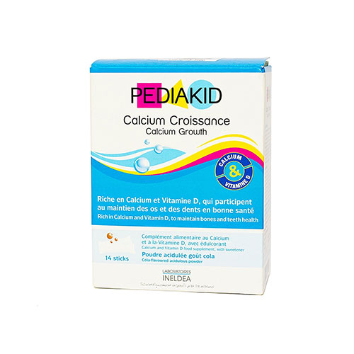 Pediakid Calcium Croissance, bổ sung caxi tăng chiều cao