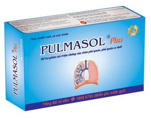 Pulmasol, Hỗ trợ điều trị bệnh phổi, COPD, hen suyễn