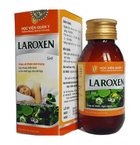 Siro LAROXEN Học Viện Quân Y, Điều trị khó ngủ, mất ngủ