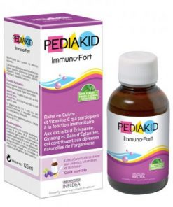 Siro PediaKid Immuno - Fort 125ml, Tăng sức đề kháng cho trẻ