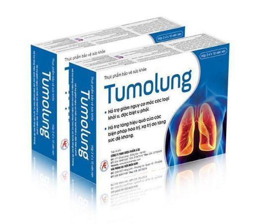 Tumolung - Phòng ngừa và hỗ trợ điều trị u phổi
