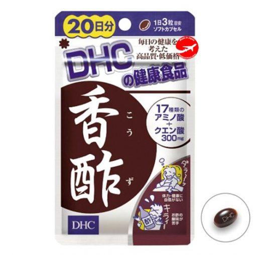 Viên uống giảm cân dấm đen DHC Nhật Bản 60 viên