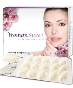 Viên uống trắng da Womansure1, viên uống Womansure1 hộp 60 viên