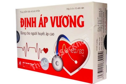 Định Áp Vương - Hỗ trợ điều trị cao huyết áp