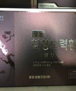 An cung ngưu hoàng Kwang Dong Hàn Quốc hộp tím 60 viên chính hãng