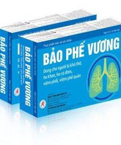 Bảo Phế Vương, Hỗ trợ điều trị ho, khó thở, viêm phế quản