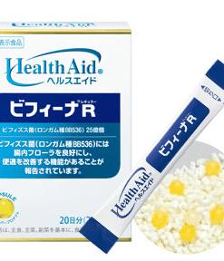 Bột men vi sinh sống HealthAid Bifina R Nhật Bản 20 gói chính hãng