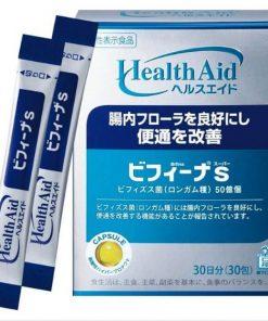 Bột men vi sinh sống HealthAid Bifina S Nhật Bản 30 gói chính hãng loại 5 tỉ lợi khuẩn