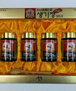 Cao đặc hồng sâm hộp 250g 4 lọ Hàn Quốc chính hãng