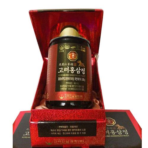 Cao đặc hồng sâm nguyên chất 100% Hàn Quốc Red Ginseng Extract loại 240g chính hãng