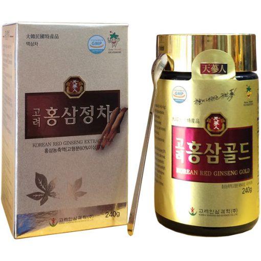 Cao hồng sâm Bio Apgold Hàn Quốc 6 năm tuổi lọ 240g chính hãng