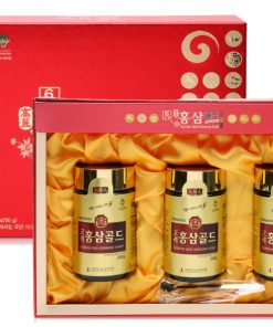 Cao hồng sâm Bio Hàn Quốc Red Ginseng Gold Hộp 3 lọ x 240g