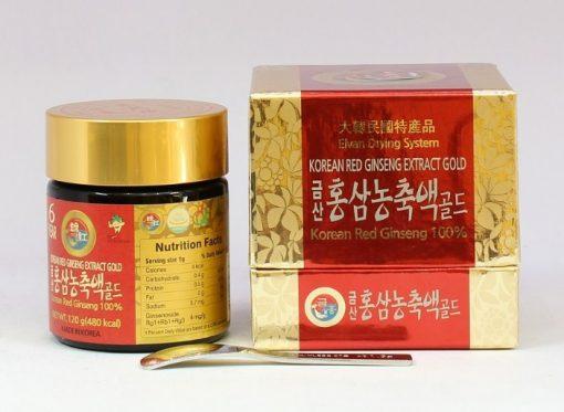 Cao hồng sâm Daedong Hàn Quốc Korean Red Ginseng Extract Gold loại 120g chính hãng