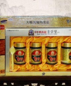 Cao hồng sâm Hanil Hàn Quốc 250g hộp 4 lọ chính hãng