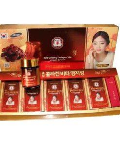 Cao hồng sâm linh chi collagen Pocheon Hàn Quốc loại 50g x 5 lọ chính hãng