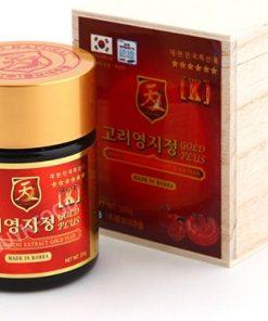 Cao linh chi Đỏ Hàn Quốc hộp gỗ cao cấp hộp 400g Samsung chính hãng