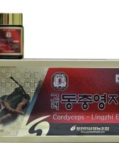 Cao linh chi đông trùng hạ thảo Pocheon Hàn Quốc hộp 5 lọ chính hãng