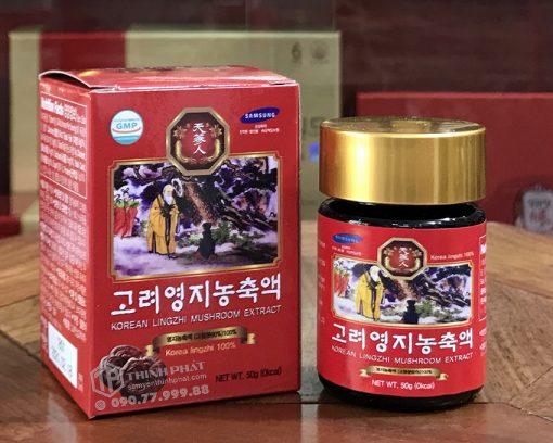 Cao linh chi đỏ Bio Hàn Quốc chính hãng hộp 5 lọ chính hãng