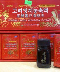 Cao linh chi đỏ Bio Hàn Quốc hộp 30g x 5 lọ chính hãng