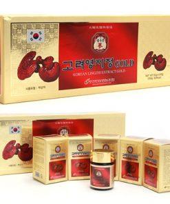 Cao linh chi Gold Hàn Quốc hộp chính hãng hộp 5 lọ