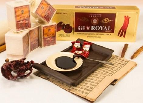 Cao linh chi hồng sâm Royal Hàn Quốc chính hãng tốt