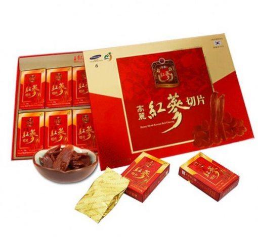 Hồng sâm lát tẩm mật ong Sambok Hàn Quốc chính hãng
