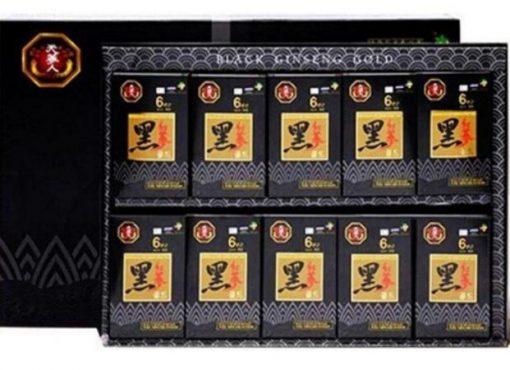 Hắc Sâm Hàn Quốc 60 gói, Tinh chất Hắc Sâm Korean Black & Red Ginseng