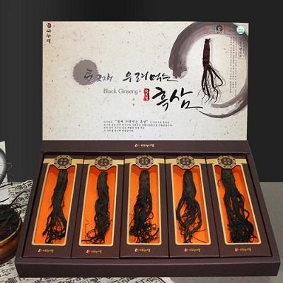 Hắc sâm Danurim Hàn Quốc hộp 5 củ thượng hạng chính hãng