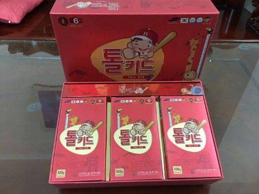 Hồng sâm baby Hàn Quốc, Hồng sâm trẻ em chính hãng hộp 30 gói x20ml