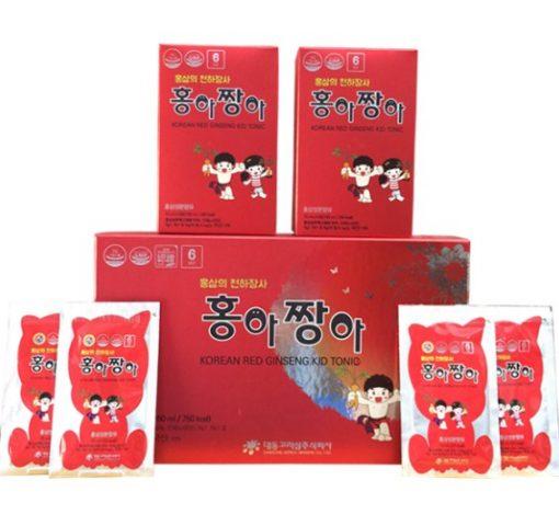 Hồng sâm baby Kid Tonic Daedong Hàn Quốc 15ml x 30 gói cao cấp