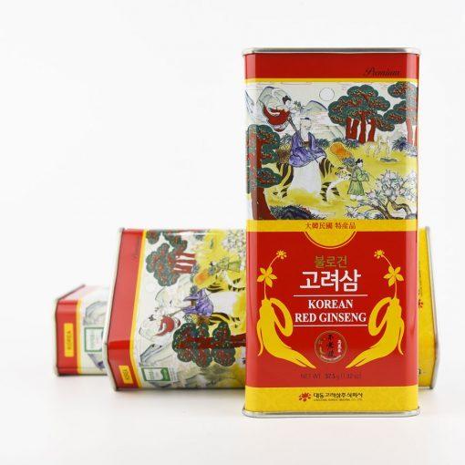 Hồng sâm củ khô Daedong Hàn Quốc chính hãng 75gr 6 củ thượng hạng