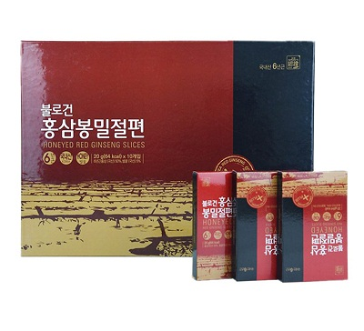 Hồng sâm lát tẩm Mật Ong Daedong loại 200gr Hàn Quốc chất lượng chính hãng