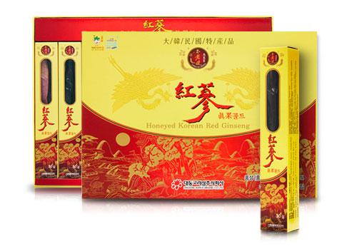 Hồng sâm nguyên củ tẩm mật ong Hàn Quốc Red Gingseng thượng hạng