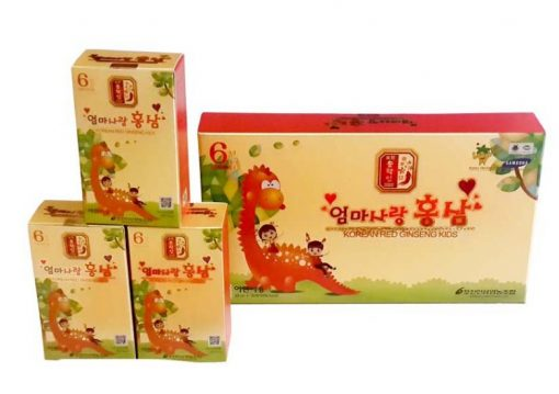 Hồng sâm trẻ em Pocheon Red Ginseng Kids Hàn Quốc loại 20ml 30 gói chính hãng