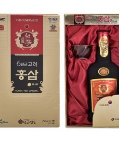 Nước hồng sâm Kanghwa Hàn Quốc Ginseng Plus loại 750ml chính hãng